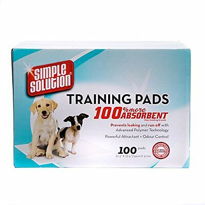 Simple Solution Puppy Toilet Training Pads, Pack of 100