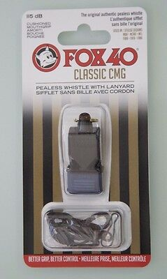 "FOX 40 CLASSIC CMG - WHISTLE WITH 9"" Clipper"