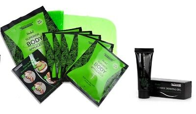 5 Body Wraps & 1 Defining Gel Ultimate Applicator it works to Tone Tighten Firm