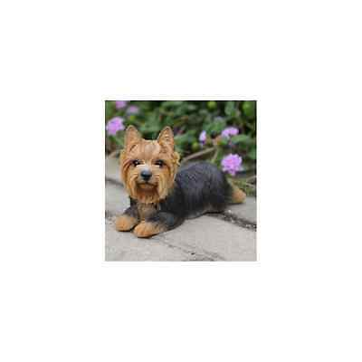 Dog - Yorkshire Terrier Lying Down Statue