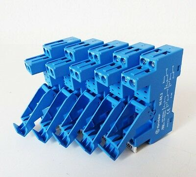 5x Finder 95.85.3 Relaissockel -used-