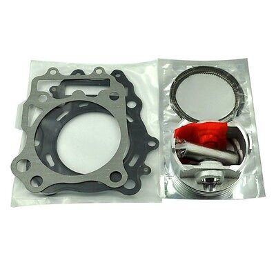 Cylinder 83mm STD Piston w/ Rings & Top End Gasket Kit for Suzuki AN400 Burgman