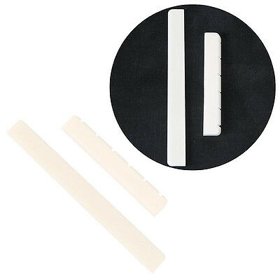Professional Buffalo Bone Bridge Nut Saddle for Classical Guitar Parts Portable