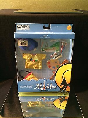 """Madeline 8"""" Doll DollHouse Play Adventures Set - ARTIST - New in Box! ~ RETIRED"""