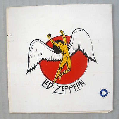 Rare Led Zeppelin 1979 Vintage Original Unused Music Decal Sticker