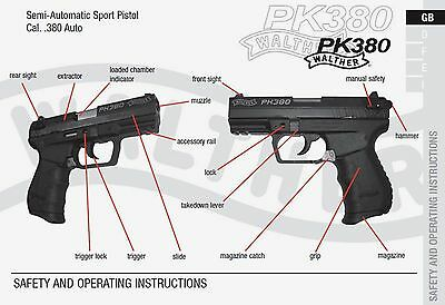 walther g22 rifle owners instruction and maintenance manual 6 99 rh picclick com Walther Firearms Walther P22 Silencer