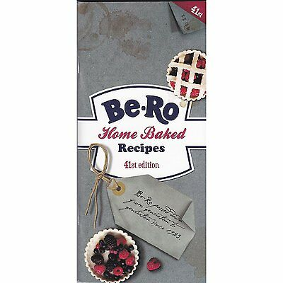 BE-RO HOME BAKED RECIPES 41st EDITION BERO COOK BOOK  Authorised Seller
