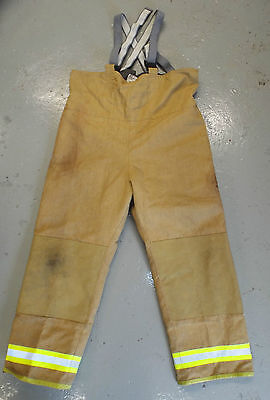 BALLYCLARE FIRE FIGHTER SAFETY TROUSERS SALOPETTES - Multiple sizes , British