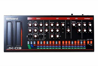 Roland JX-03 Virtual Analogue Desktop Synth (JX-3P)