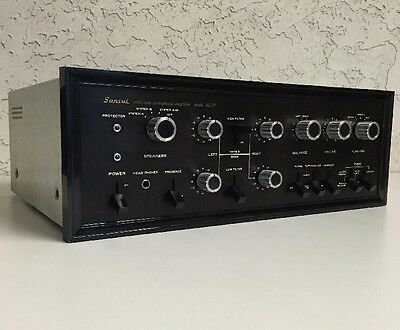 Vintage Sansui AU-777 Solid State Stereophonic Integrated Amplifier