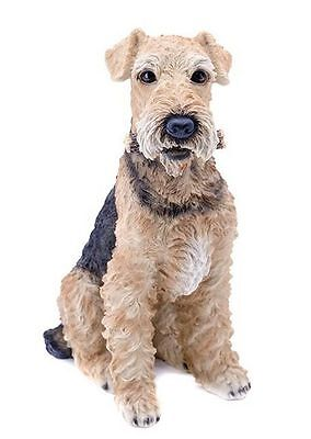 Dog - Airedale Terrier Statue