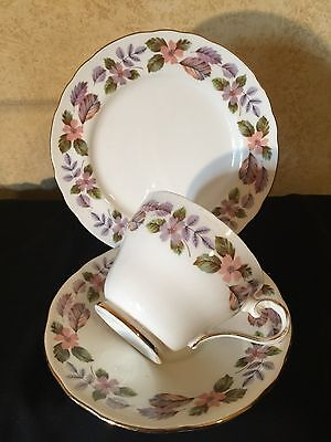 Antique Vintage Trio Cup Saucer Plate Csp Afternoon High Tea Aynsley April Rose