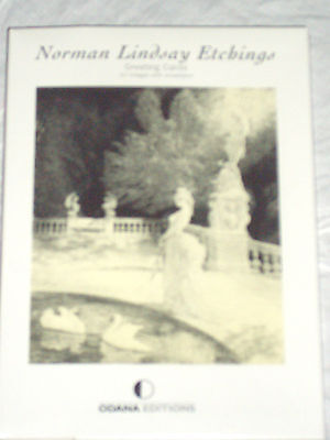 Norman Lindsay Etchings - Set Of 10 Greeting Cards