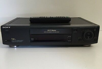 Sony SLV-795HF HIFI Stereo VCR VHS Video Cassette Recorder Player with Remote