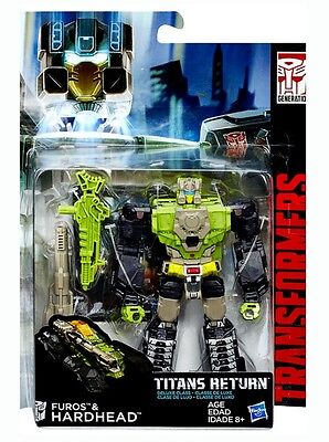 Transformers Titans Return Deluxe Class Autobot Hardhead & Furos