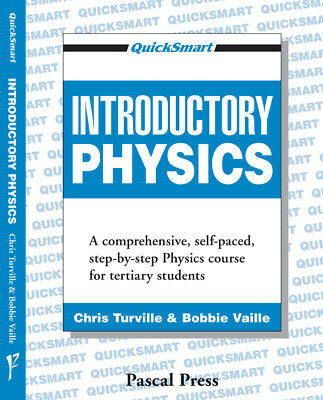 NEW Quicksmart - Introductory Physics educational textbook