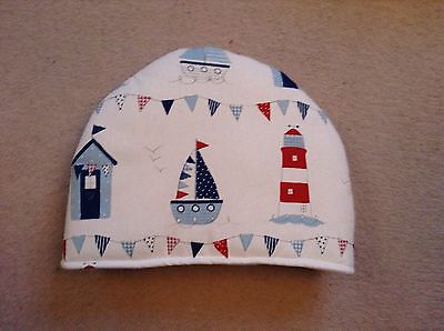 Boats And Lighthouses Tea Cosy