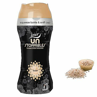 Lenor Unstoppables Beads Lavish In Wash Scent Booster 375g