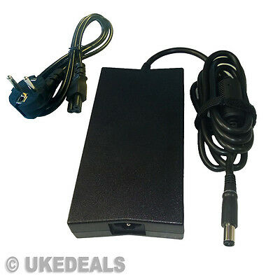 FOR Dell 0J408P 19.5V 7.7A PSU Power Supply Adapter + LEAD POWER CORD EU UKED