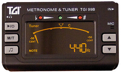 TGI Tuner Chromatic Tuner/Metronome with Clip On Mic. (Tuning Devices|Digital Tu