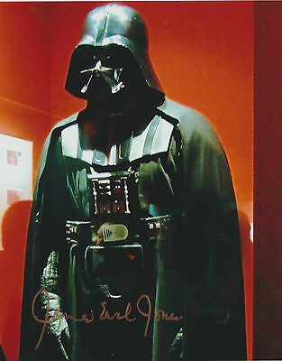 *signed*  James Earl Jones - 10X8 Photo  (Star Wars - Darth Vader)  Autographed