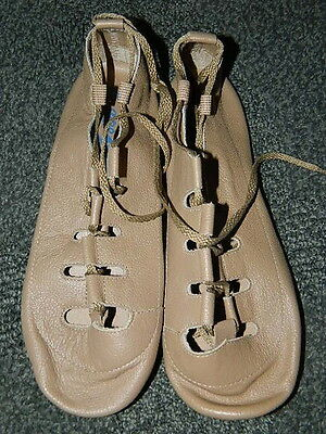 Capezio Irish Stepper Dance Shoes Tan Style 391 NEW