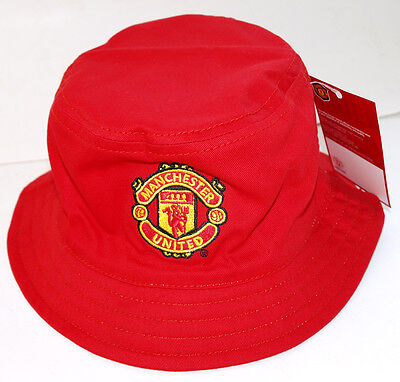 Manchester United Official Reversible Bucket Hat(Red & White)