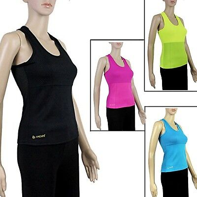 Anzie's® Womens Neoprene Slimming Sweat Shirt Body Shaper Weight Loss Tank Top