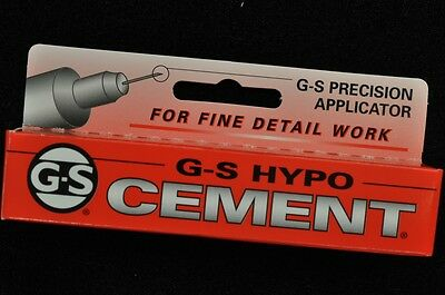 **usa**g-S Hypo Cement Glue For Watch Crystals And Hobbies Precision Applicator