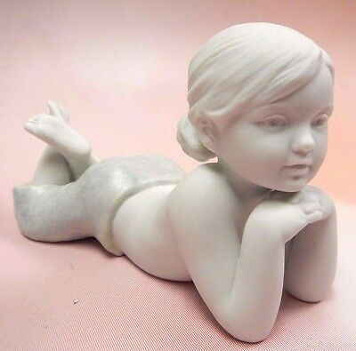 The Daughter  - Sweet Little Girl Figurine 2008 By Lladro Porcelain #8405