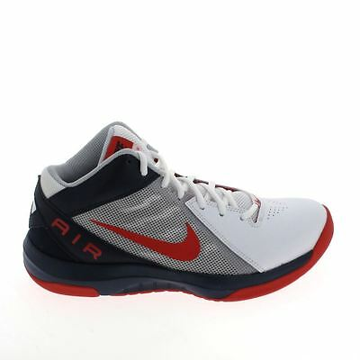 NIKE The Air Overplay 9 Blanc Rouge 831572101