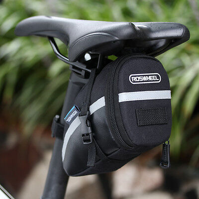 Waterproof Bike Cycling Saddle Bag Seat Phone Pouch Bicycle Tail Rear Storage UK