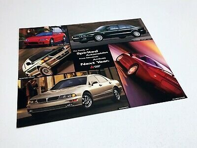 1999 Mitsubishi Montero Sport Galant Eclipse Diamante Information Sheet Brochure