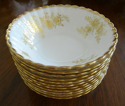 One (1) Royal Albert Bone China England Antoinette Cereal Bowl (11 Available)