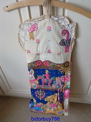 Retro nappy stacker , nappy storage bag