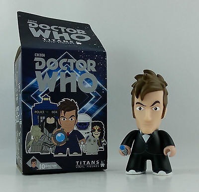 10th Doctor in Tux Doctor Who Titan Mini Vinyl Figure with Box SDCC Exclusive!