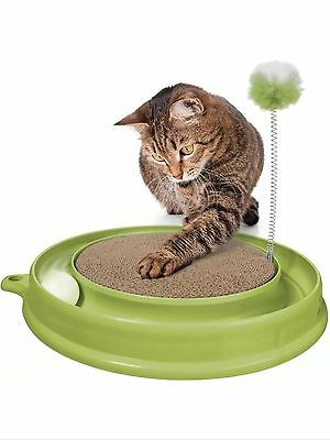 Catit Play N Scratch Toy Green With Catnip