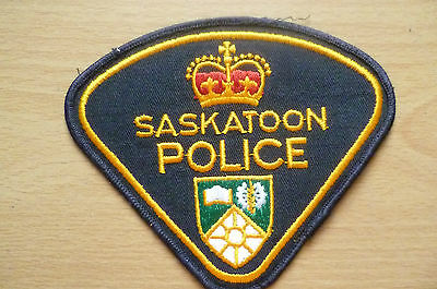 Patches: SASKATOON CANADA POLICE PATCH (NEW* apx.10x11.5 cm)