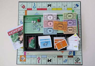 Monopoly Real Estate Trading Board Game - 2013 Hasbro with Cat Token