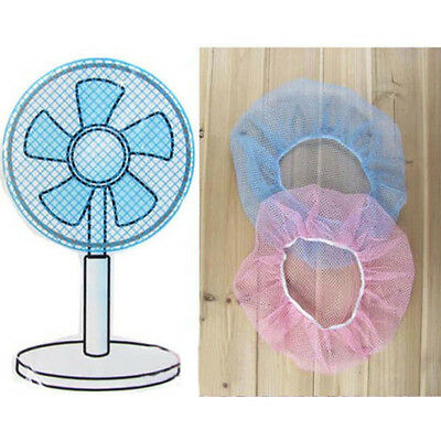 2Pcs Portable Baby Kids Nylon Finger Protector Safety Mesh Fan Cover Dust Cover