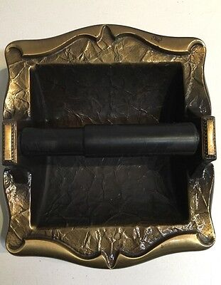 Amerock Carriage House Toilet Paper Holder Vintage Brass Recessed Wall Mount