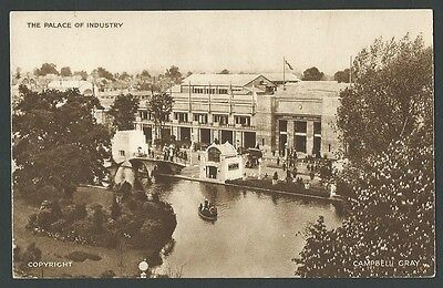 British Empire 1924 Palace Of Industry Exterior Vintage Printed Postcard
