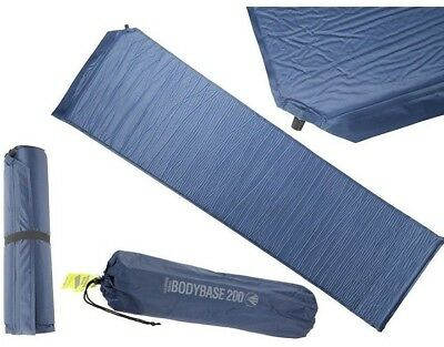 Self Inflating Single Mattress With Storage Bag Camping Outdoors 2.5cm BB 200