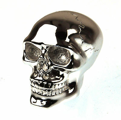 Chrome Skull Gear Knob