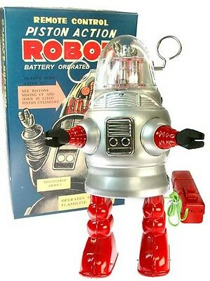 """Robby"" Remote Control PISTON ACTION ROBOT, neu OVP"