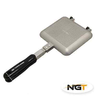 NGT Bankside Sandwich Toastie Toaster Maker Carp Fishing Camping Sausage Bacon