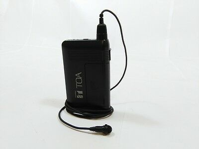 Audio For Video Wm-5320 D02 Uhf Condenser Omni Lapel Wireless Microphone 1279