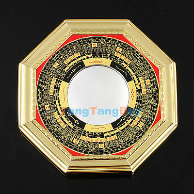 Chinese Oriental safe Protection Feng Shui Home House Convex Bagua Mirror