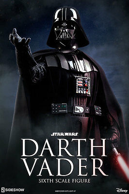 Star Wars: Return of the Jedi DARTH VADER Sixth Scale 1/6 Action Figure SIDESHOW