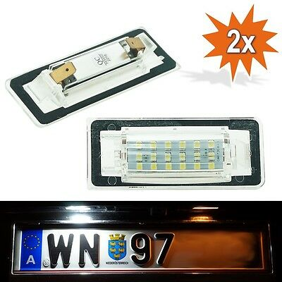 LED Kennzeichenbeleuchtung SMD Audi TT 8N Coupe + Roadster 818 TÜV-FREI C11